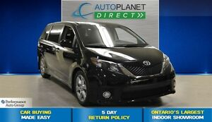 2013 Toyota Sienna SE 8 Passenger, Bluetooth, Back Up Cam, $107/
