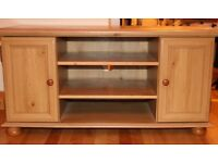 """Large TV stand from Ikea. 103 cm wide. Would carry 40"""" screen TV."""