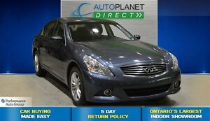 2012 Infiniti G25X AWD, Back Up Cam, Bluetooth, $81/Wk!