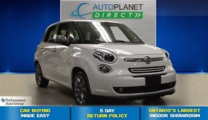 2015 Fiat 500L Lounge, Navi, Back Up Cam, Bluetooth, $55/Wk!
