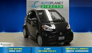 2015 smart fortwo One Owner, Heated Seats, $28/Wk!