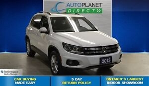 2013 Volkswagen Tiguan TSI Highline AWD, Sunroof, Bluetooth, $98