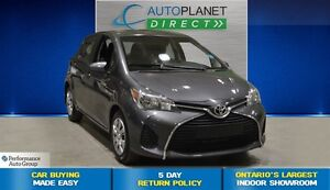 2015 Toyota Yaris LE, Bluetooth, Keyless, Ontario Vehicle, $42/W