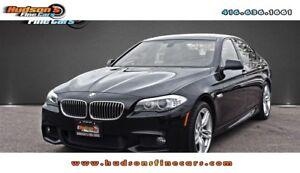 2013 BMW 535i xDrive xDrive M-SPORT NAV 360CAM PADDLE SHIFTERS