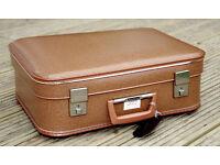 Vintage retro Travel Luggage BA Case Cabin Crew Bag