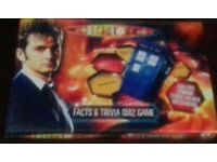 Dr Who Facts and Trivia Quiz Game Sealed