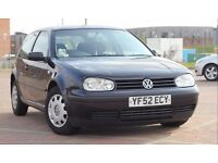 VW Golf Mk4, full service, MOT