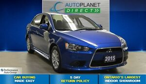2015 Mitsubishi Lancer SE, Ontario Vehicle, Keyless, $50/Wk!
