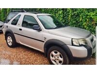 Land Rover Freelander 1.8 petrol with air condition