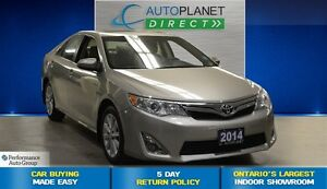 2014 Toyota Camry XLE V6, Navi, Leather, $83/Wk!