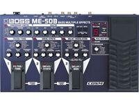 Boss ME-50B Bass Guitar Effects