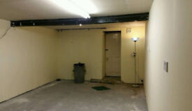 Basement Storeroom for sale in town centre area.