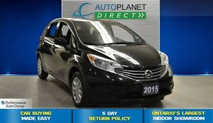 2015 Nissan Versa Note 1.6 SV + Bluetooth + Back Up Cam + $40/We