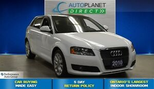 2010 Audi A3 2.0 TDI, Low Kms, Bluetooth, $113/Wk!