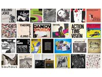 Punk and Post-Punk vinyl albums and singles wanted by enthusiastic collector...