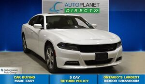 2016 Dodge Charger SXT AWD, Navi, Back Up, Sunroof, $93/Wk!