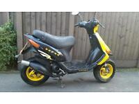 Gilera stalker 50cc moped . Sym jet speedfight ludix piaggio 125cc moped gilera runner typhoon