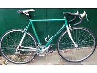 58cm Vintage Raleigh race road bicycle racer racing bike. Fast on road