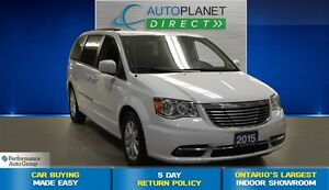 2015 Chrysler Town & Country Touring, Back Up Cam, DVD, $80/Wk!