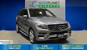 2014 Mercedes-Benz M-Class 350 BlueTEC 4MATIC, Premium/Driver As