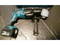 Makita dhr164 sds 14.4v hammer-drill set