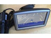 "4.3"" TOMTOM XL PORTABLE GPS Sat Nav SatNav GPS navigator UK + Western EUROPE Map"