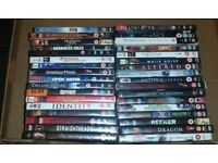 Horror Movies on DVD Any 10 DVDs for £5
