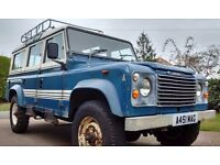 1983 Land Rover 110 County StationWagon 2 1/4 petrol