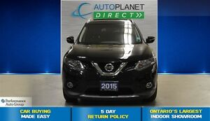 2015 Nissan Rogue SV, Clean Carproof, Sunroof, $88/Wk!