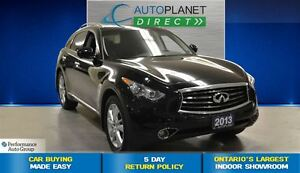 2013 Infiniti FX37 Premium, Navi, Back Up Cam, Sunroof, $113/Wk!