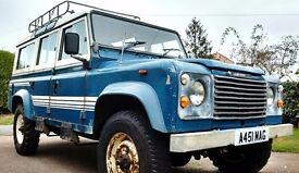 1983 Land Rover 110 County StationWagon, an Early example 110 with Only 099734 genuine miles...