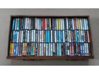 APPROX 100 MUSIC CASSETTE TAPES (MOSTLY 1980's/90's)