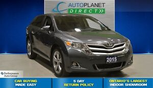 2015 Toyota Venza V6 AWD, Back Up Cam, Bluetooth, $91/Wk!