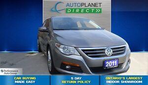 2011 Volkswagen CC Highline V6, Navi, Back Up Cam, $81/Wk!