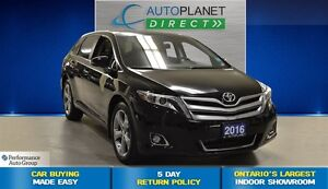 2016 Toyota Venza Limited, Navi, Back Up Cam, Panoroof, $111/Wk!