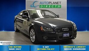 2010 Audi A5 2.0T, Ontario Vehicle, Glass Roof, $102/Wk!