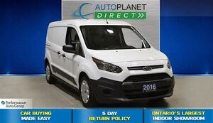 2016 Ford Transit Connect XL  Low Roof, Ontario Vehicle, $82/Wk!