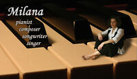 Piano lessons for any age and level, classic and modern styles!