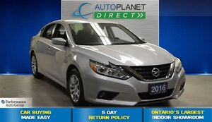 2016 Nissan Altima 2.5 S, LOW KMS, Back Up Cam, Bluetooth, $64/W