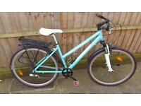 Ladies 2014 Btwin Riverside 3 hybrid mountain bike in full working order excellent condition