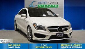 2014 Mercedes-Benz CLA-Class CLA45 AMG 4MATIC, Premium Pkg, Navi