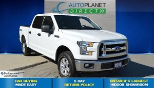 2015 Ford F-150 XLT, Bluetooth, Keyless, $114/Wk!
