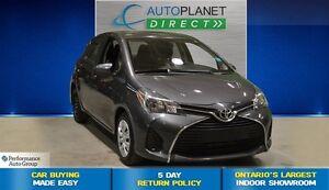 2015 Toyota Yaris LE, Keyless Entry, Bluetooth, $43/Wk!