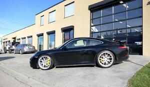 "20"" BBS for Porsche 991 (911) CH-R wheels + Michelin PA4 winter tires"
