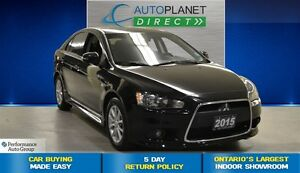 2015 Mitsubishi LANCER SPORTBACK SE, Ontario Vehicle, Sunroof, B