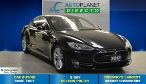 2013 Tesla Model S 40 kWh, RARE All Electric Beauty, $228/Wk!
