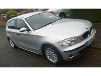 BMW 116i ES Edition (4/5 Door) in Silver with Black Interior (117k) 1 Series