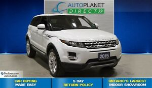 2015 Land Rover Range Rover Evoque Prestige 4x4, Navi, Back Up C