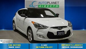 2013 Hyundai Veloster Back Up Cam, Bluetooth, $47/Wk!