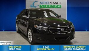 2016 Ford Taurus Limited AWD, Navi, Sunroof, Back Up Cam, $98/Wk